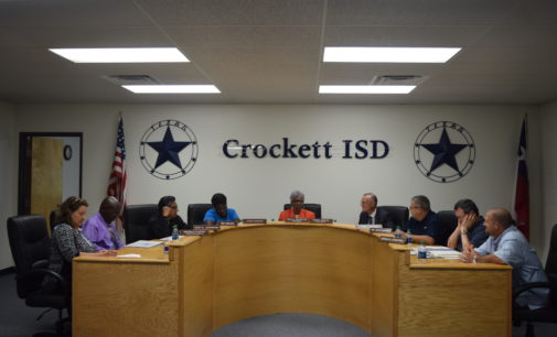 Crockett ISD Staff Receives Good News on First Day of School