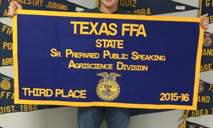 Martin Takes Third at State FFA Contest
