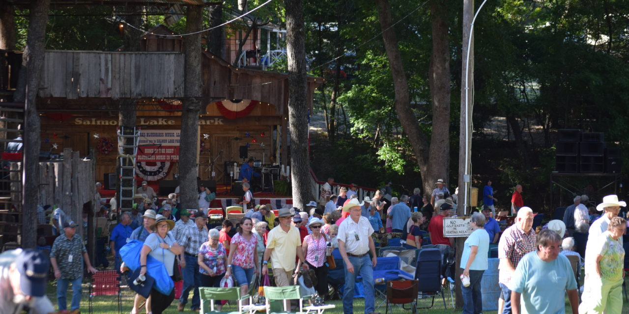Bluegrass Bands and Fans – No Place Quite Like Grapeland