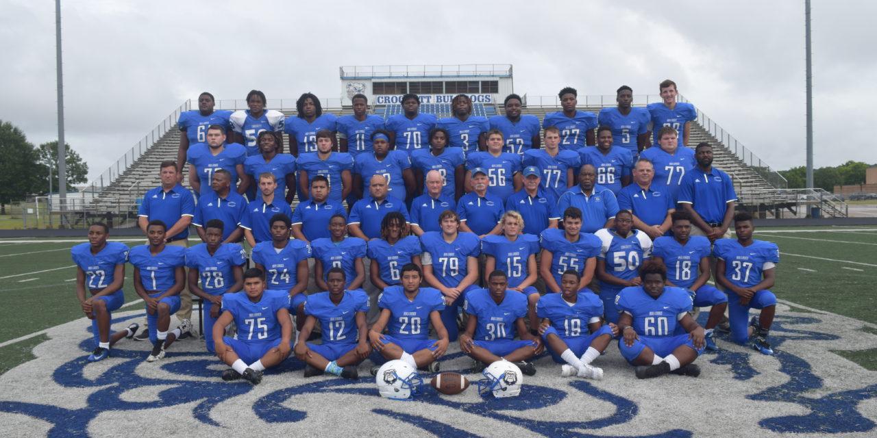 Crockett Bulldogs Football 2016