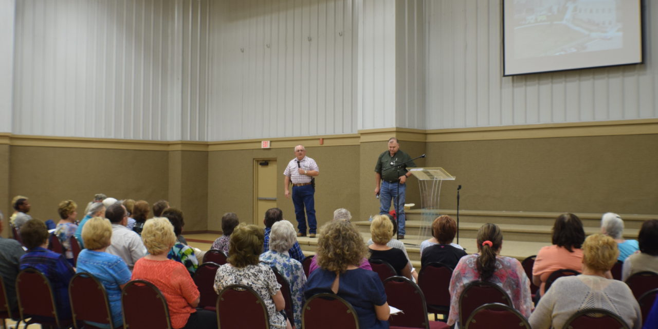 Active Shooter Response Class Held in Grapeland