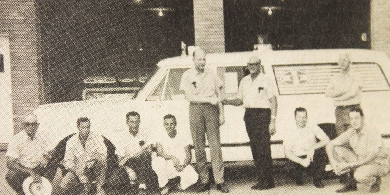 Grapeland Fire Department Gets Used Ambulance … In 1971