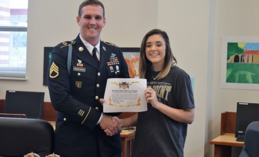 Ashley Buck Inks Letter of Intent with West Point