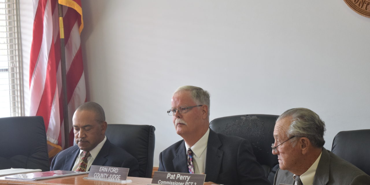 Retirement of County Judge Tabled By Commissioners