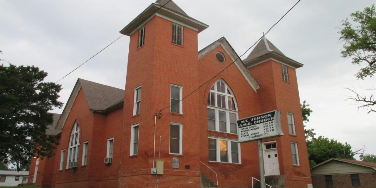 Mt. Vernon AME Church Receives $10K