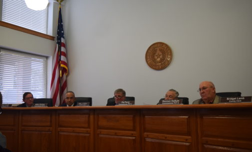 Ho. Co. Commissioners Discuss FEMA, Contracts and Zilkha