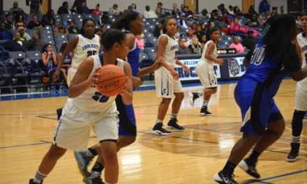 Crockett Lady Dawgs Rattle Navasota JV, 57-13