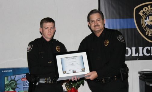 Lt. Clayton Smith Wins Supervisor of the Year