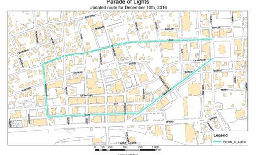 Christmas Parade of Lights postponed to Dec. 10