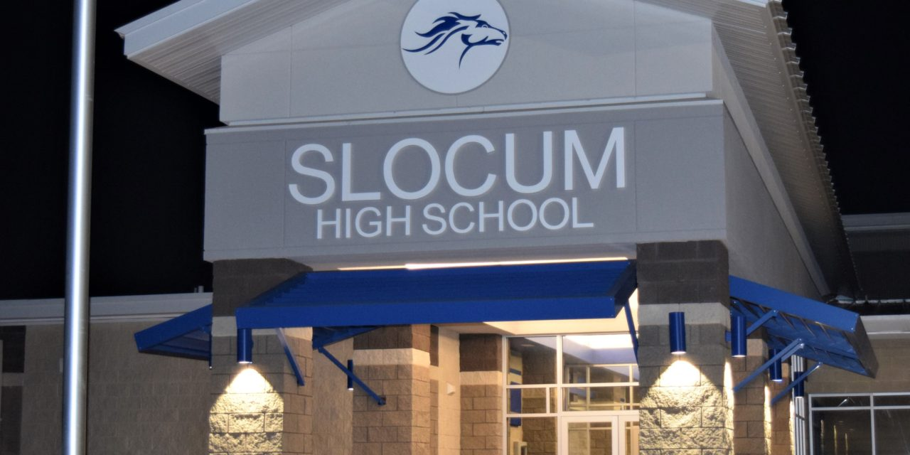 Slocum High School Completes First Semester