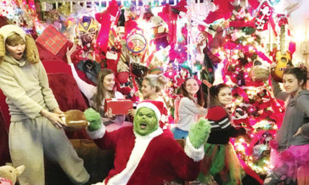 The Grinch's Lair: Unique Christmas event open on weekends in Palestine