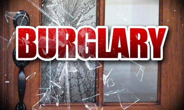 Burglary under Investigation by HCSO