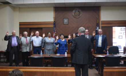 Houston County Swearing – In Ceremony