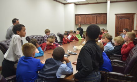 GES Young Businessmen Learn about Banking Industry