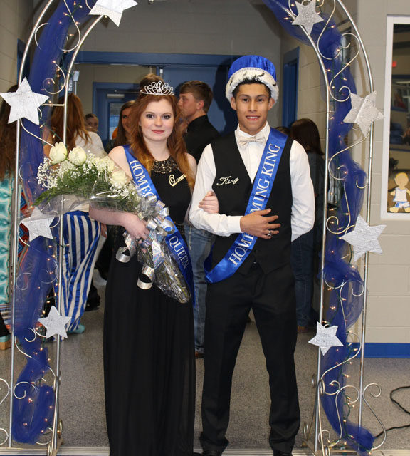 Slocum Homecoming King and Queen crowned