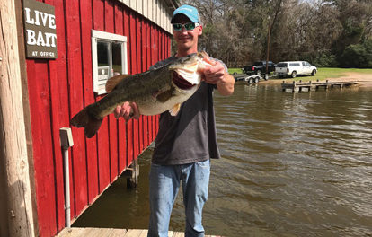 HOUSTON COUNTY LAKE REPORT 2-16