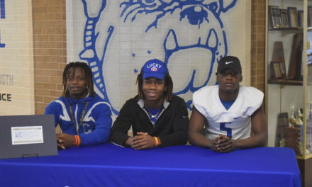 Three Crockett Players Sign Letters of Intent with Kilgore College