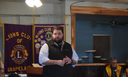 Tax Reform Discussion Held at Lions Club Meeting