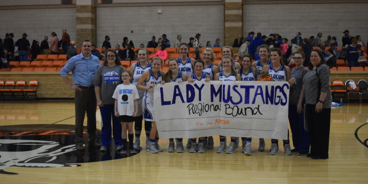 Lady Mustangs Trample Lady Eagles, 46-24