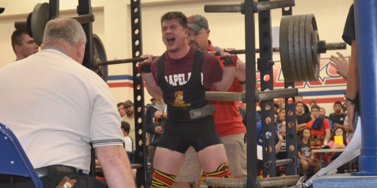 Riess Outlifts Competition for Regional Title