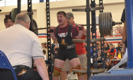 Riess Takes Second at State Powerlifting Competition