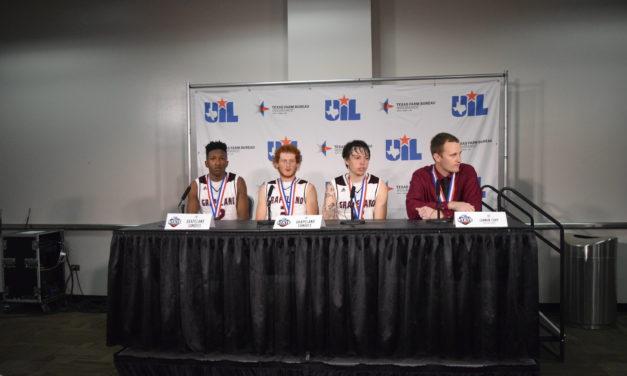 Players, Coaches Discuss Grapeland/Muenster Semifinal