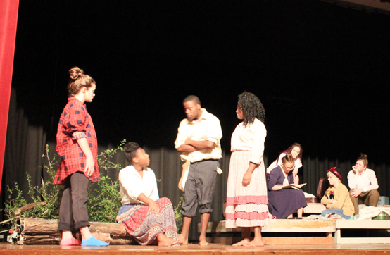 Grapeland HS to present community performance of one-act play