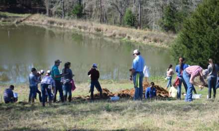 Grapeland FFA Hosts Land Judging / Homesite Evaluation Events