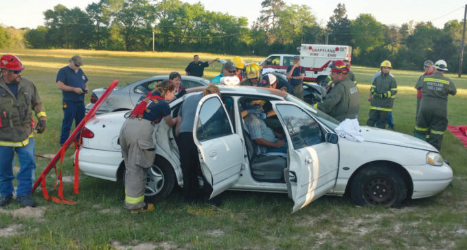 GVFD Hosts Training Event for EMS Students, Firefighters