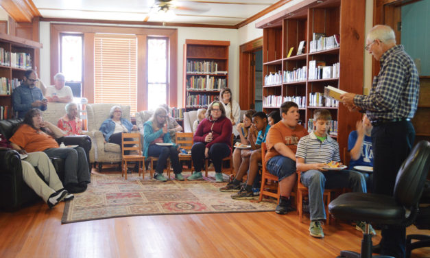 Author Shares Book of Poems at Library