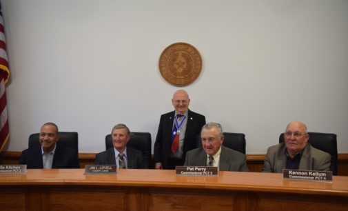 Ho. Co. Commissioners Adopt Proclamations