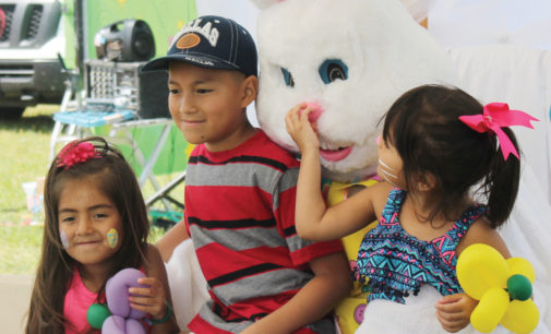 Palestine hosts 4th annual EggNormous Easter Egg Hunt