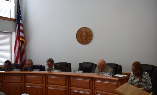 Ho. Co. Commissioners Receive Both Good and Bad News