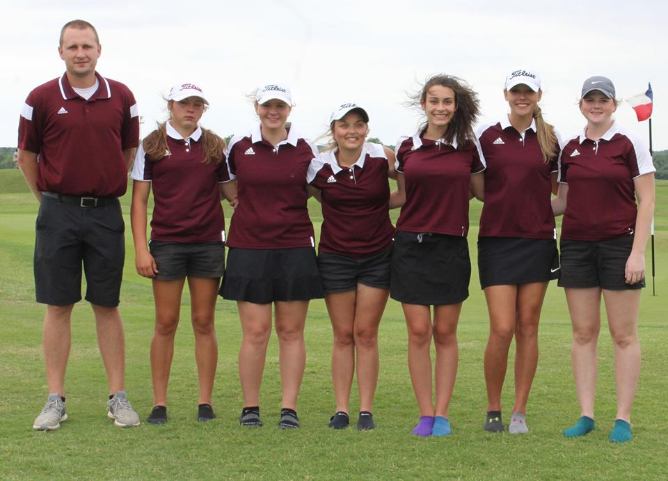 Grapeland Sandiettes Finish Sixth in State Golf Tournament