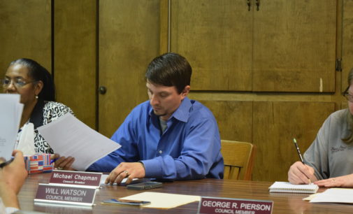 Chapman Selected as Grapeland's Mayor Pro Tem