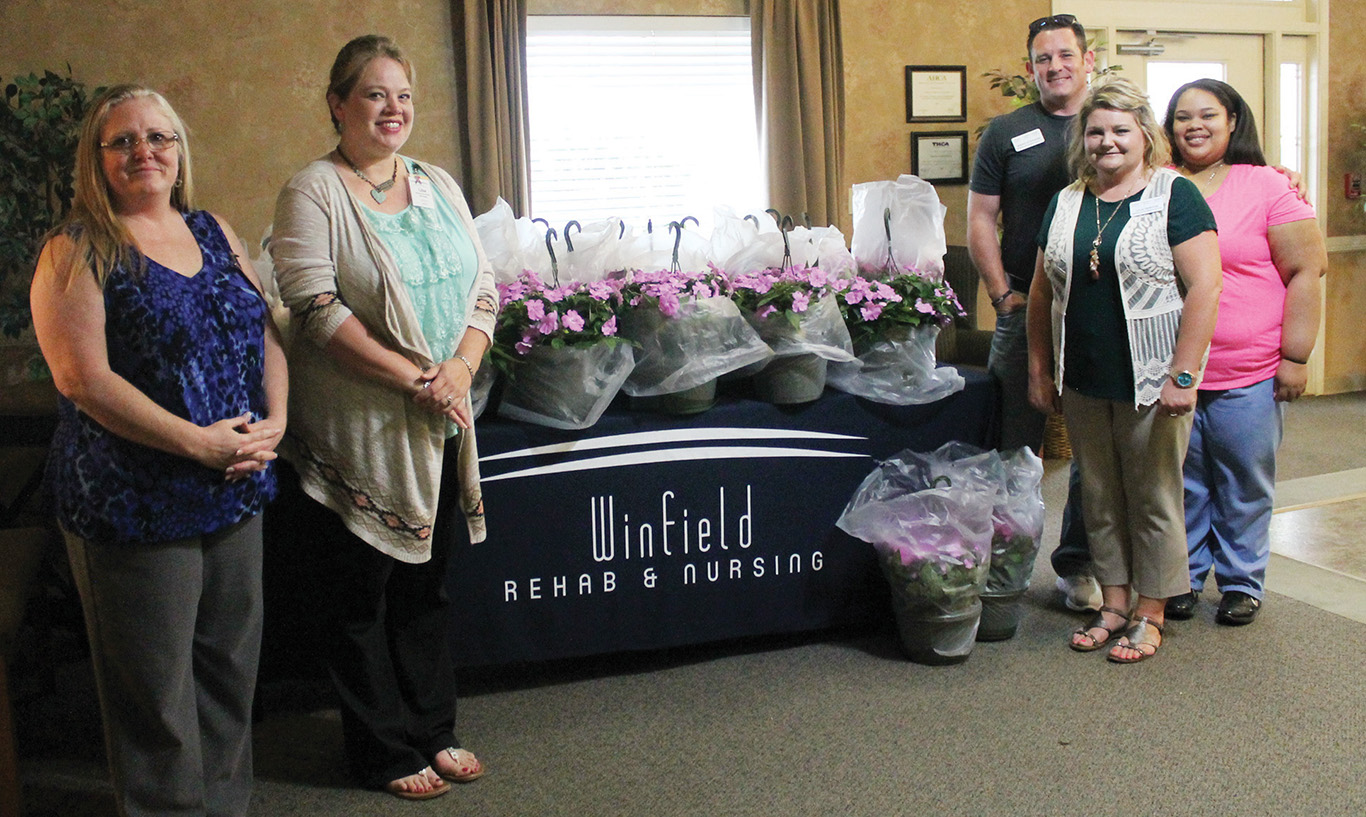 Nursing Homes Honor Moms With Hanging Baskets