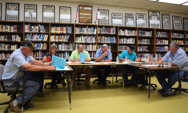 Interim Superintendent Provides Update to Lovelady School Board
