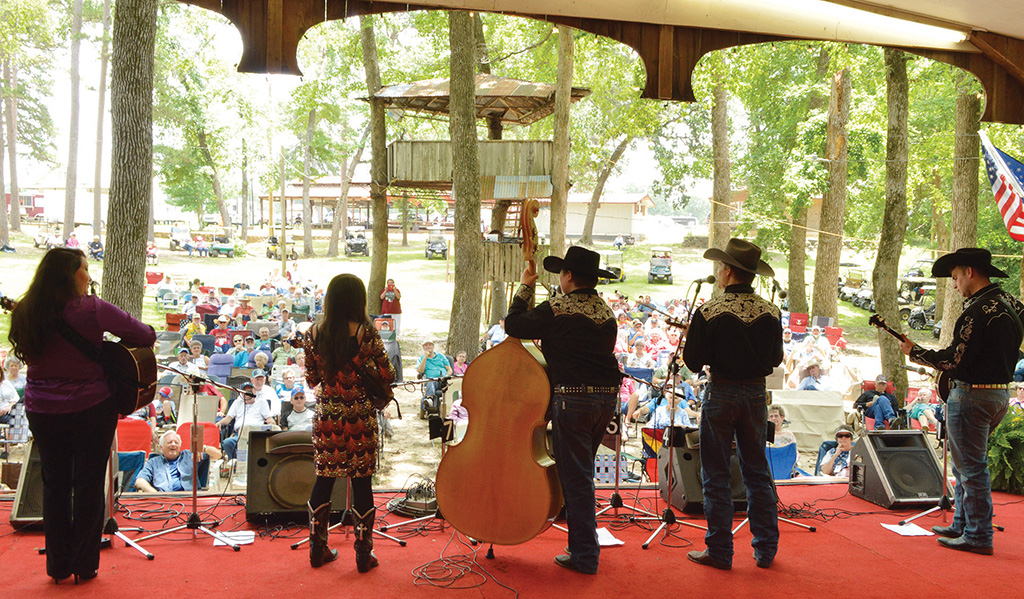 Salmon Lake Park's 20th Memorial Day Weekend Gospel-Bluegrass Festival Successful