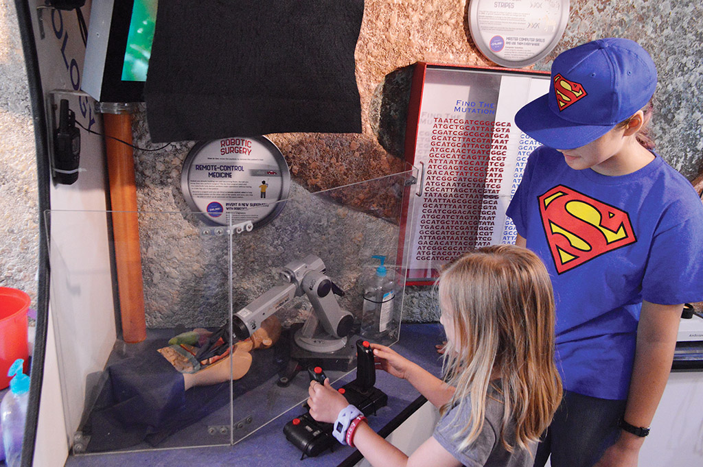 Exhibit Gives Kids a Taste of Science, Technology, Engineering and Mathematics