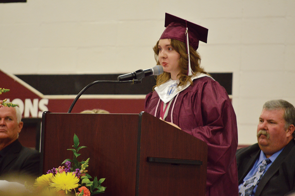 Lovelady Graduates Prepare to Enter 'Playground of the Real World'