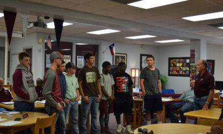 Students Recognized During GISD School Board Meeting