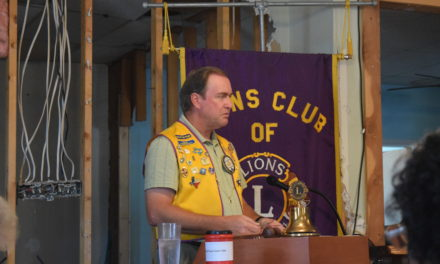 Grapeland Noon Lions Club Begins New Year
