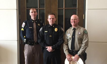 Area Law Enforcement Officials Receive Award from TP&W