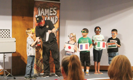 The Secret Agent Magic Show Entertains Kids at Crockett Library