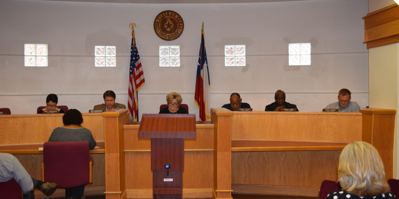 Crockett City Council Moves Forward on Grants, Public Hearing Held