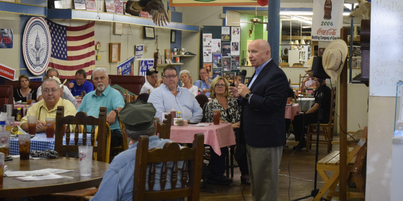 Congressman Kevin Brady Hosts Crockett Town Hall