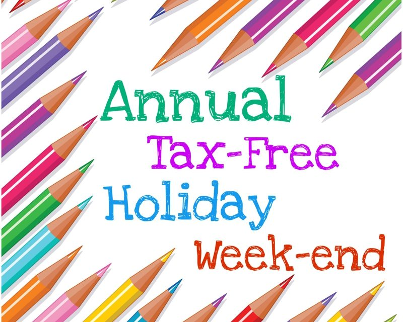 Save Big During Back-to-School Sales Tax Holiday