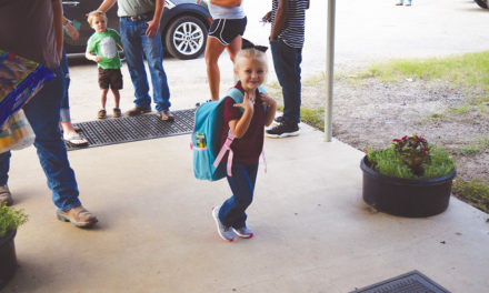 Grapeland's First Day of School