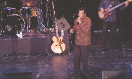 Charley Pride Wows Local Audience