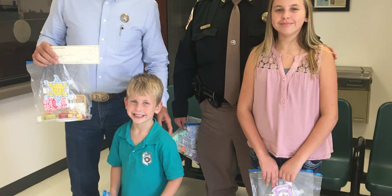 HCSO Gets a Surprise Gift